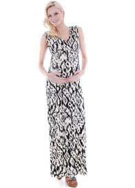 Everly Grey - Jill Maxi Dress in Ikat