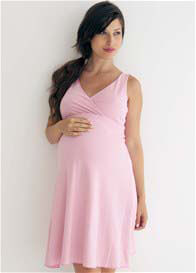 Belabumbum - Reversible Dress in Pink Stripes