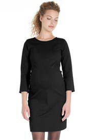 Queen mum - Side Panel Ponte Shift Dress