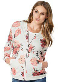 Noppies - Floral Print Bomber Jacket