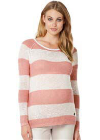 Noppies - Jacy Knit Jumper in Pink Stripes