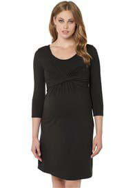 Noppies - Elias Nursing Dress in Charcoal