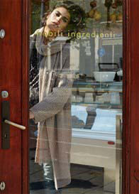 Queen mum - Glitter Knit Cardigan in Camel