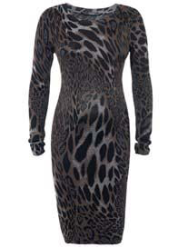 Noppies - Seya Cheetah Print Knit Dress