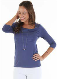 Trimester™ - Alana Nursing Top in Blue