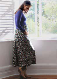 Trimester® - Delilah Cross Over Nursing Maxi Dress