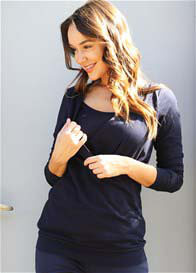 Trimester® - Tommy Relaxed Nursing Sweater