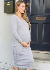 Trimester® - Carter Ruched Everyday Midi Dress