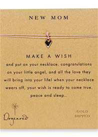Dogeared - New Mom Make A Wish Silk Necklace