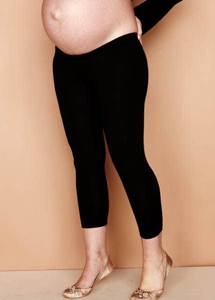 oasis 3/4 maternity leggings