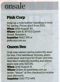 sydney morning herald essential style sale