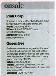 sydney morning herald essential style sale