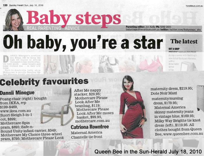queen bee in the sun herald july 2010
