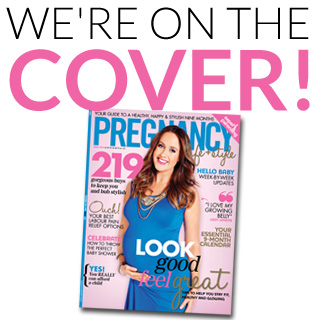 We're on the COVER of Pregnancy Life & Style Magazine 2014/15
