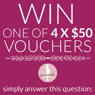 WIN ONE OF 4 X $50 VOUCHERS IN AUGUST