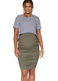Bae - Count Your Blessings Skirt in Khaki