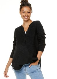 Bae - Dawn To Dusk Snap Front Sweat