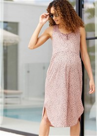 Bae - Under The Sun Nursing Midi Dress - ON SALE