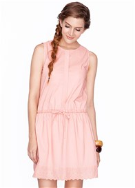 Dote - Sara Breastfeeding Dress in Peach - ON SALE