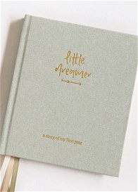 Emma Kate Co - Little Dreamer Baby Journal in Sage Green