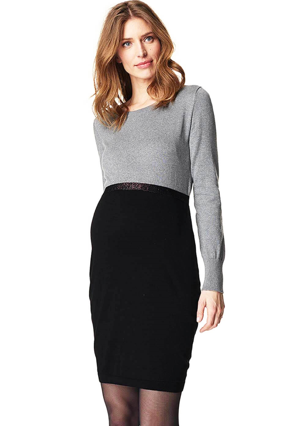 Esprit - Knitted Colour Block Dress - ON SALE
