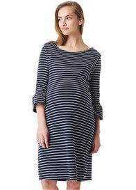 Esprit - Organic Cotton Fluted Sleeves Dress