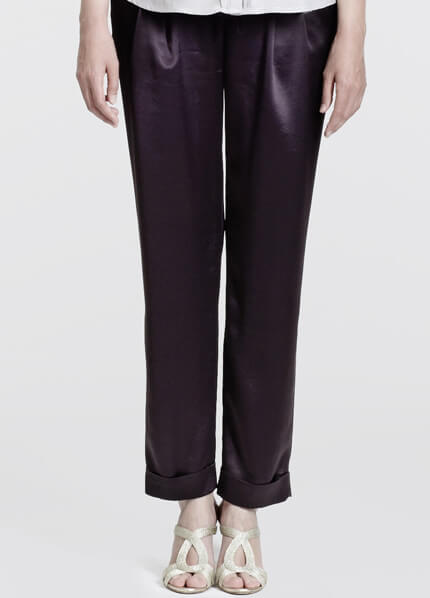 Venice Evening Maternity Trousers in Black by Slacks & Co