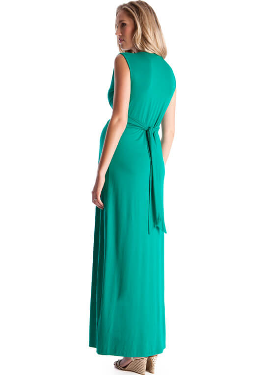 Emerald Green Evening Maternity Maxi Dress By Seraphine