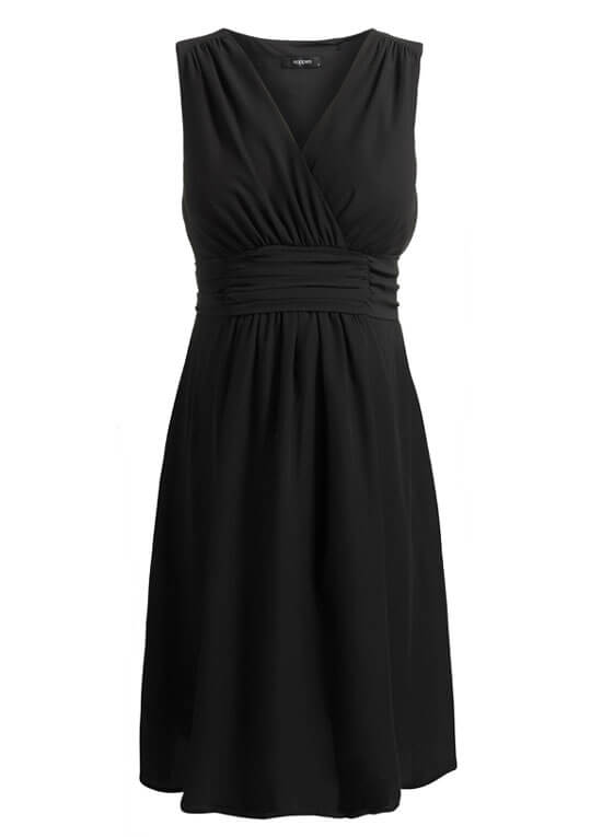 Liane Maternity Cocktail Dress In Black By Noppies