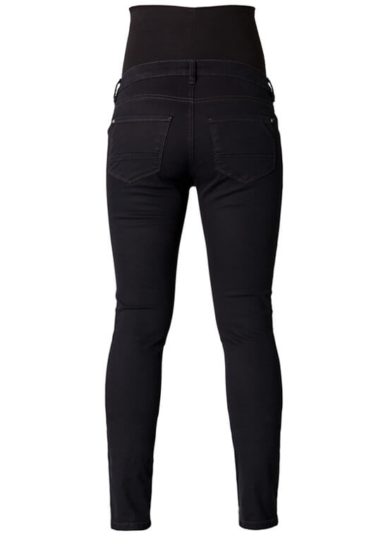 Leah Slim Fit Black Maternity Jeans by Noppies