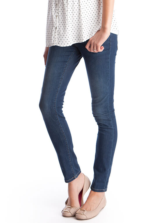 Premium Under Bump Skinny Maternity Jeans by Seraphine