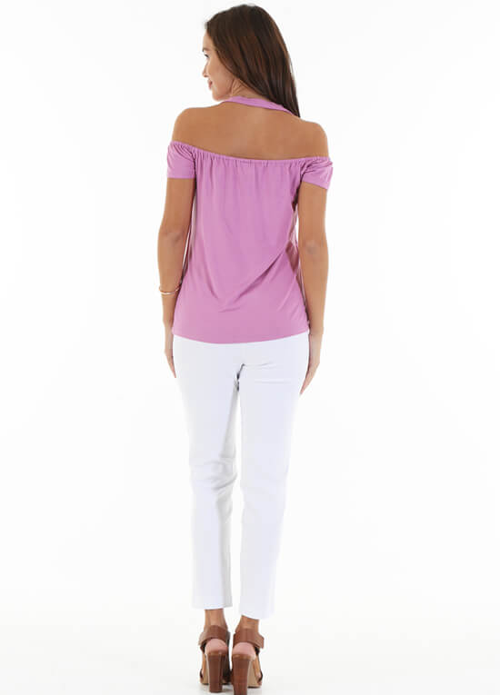Floressa Ezra Off the Shoulder Nursing Top | Queen Bee