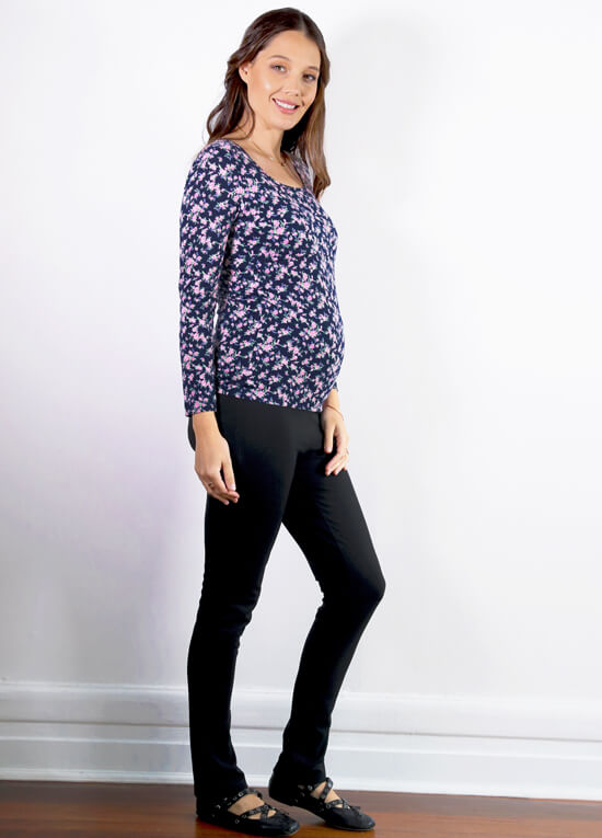 Floressa Lonell Breastfeeding Top in Dainty Floral | Queen Bee