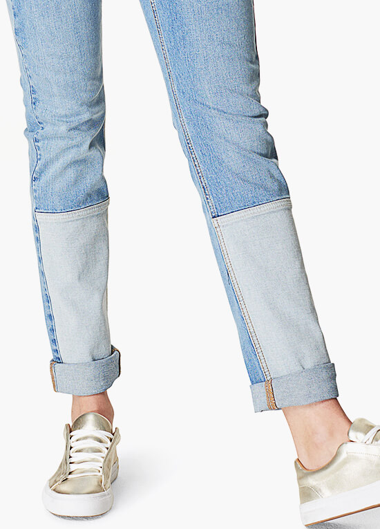 Robin Patch Maternity Boyfriend Jeans by Noppies