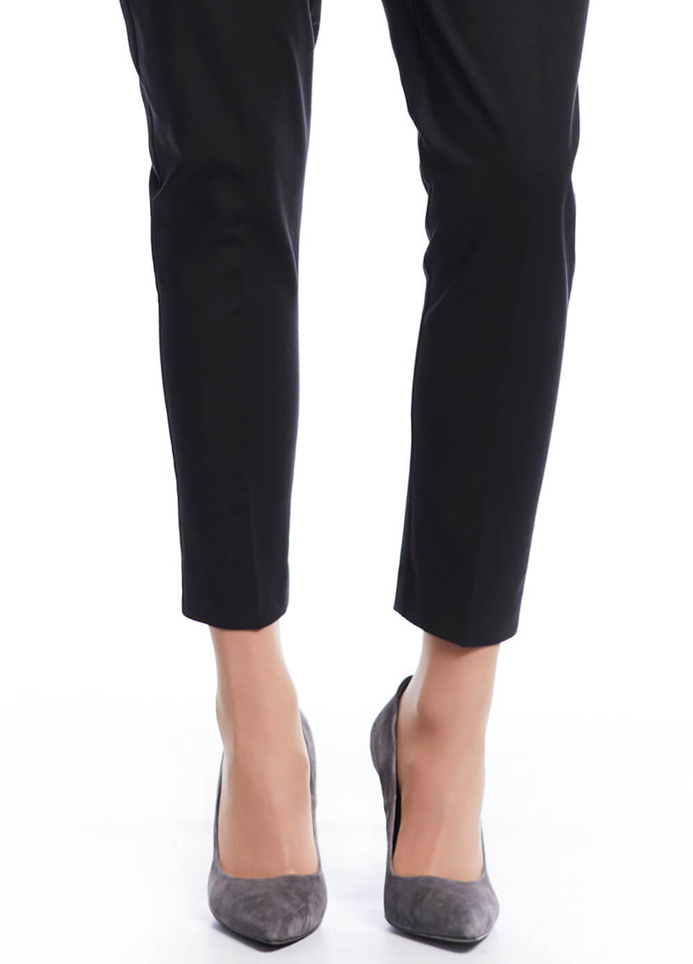 Black Maternity Business Trousers by Queen mum