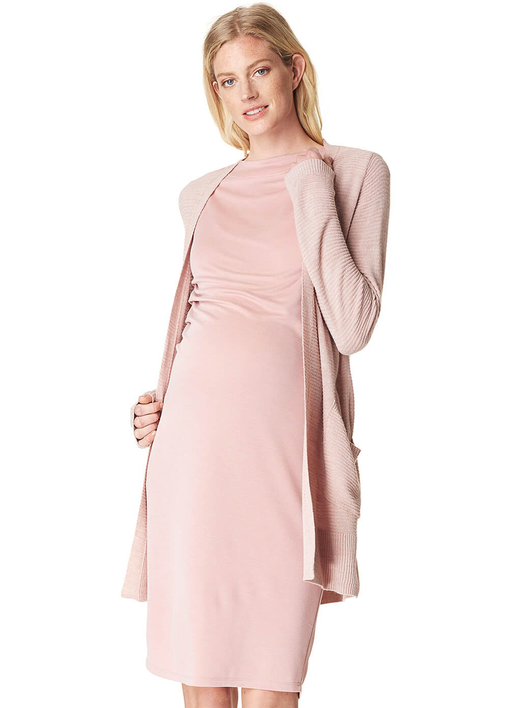 Annefleur Maternity Dress in Blush by Noppies