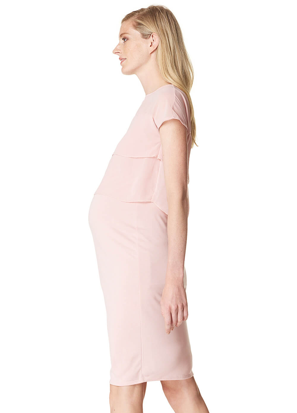 Daisy Maternity & Nursing Dress in Blush by Noppies
