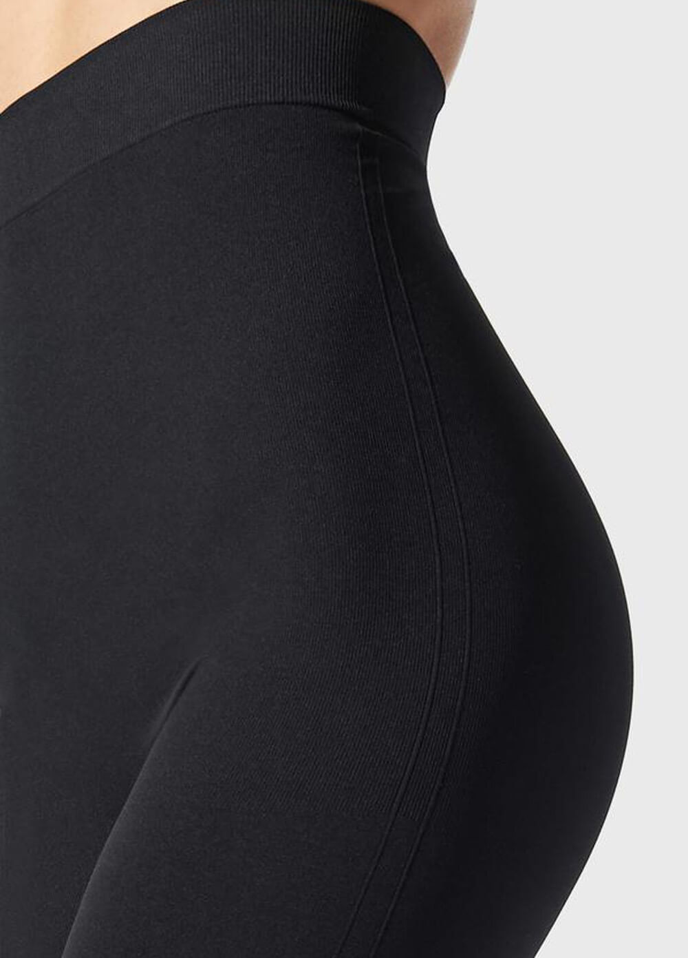 High Waist Postpartum Support Leggings in Black by Blanqi