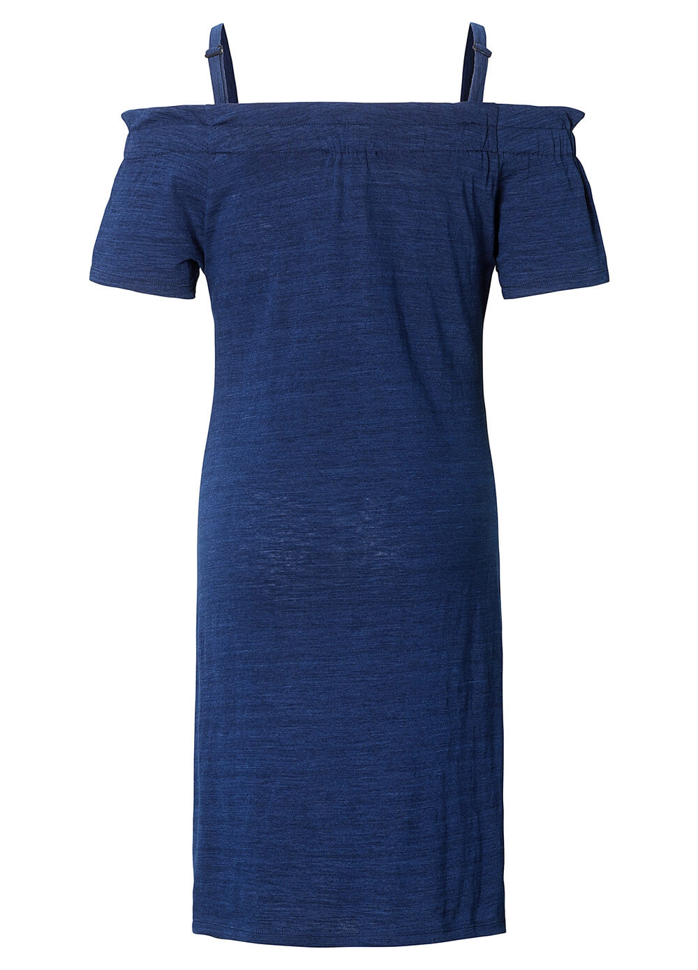 Azure Blue Off Shoulder Maternity Dress by Esprit