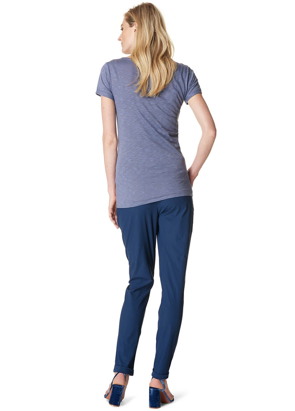 Aranka Navy Maternity Trousers by Noppies