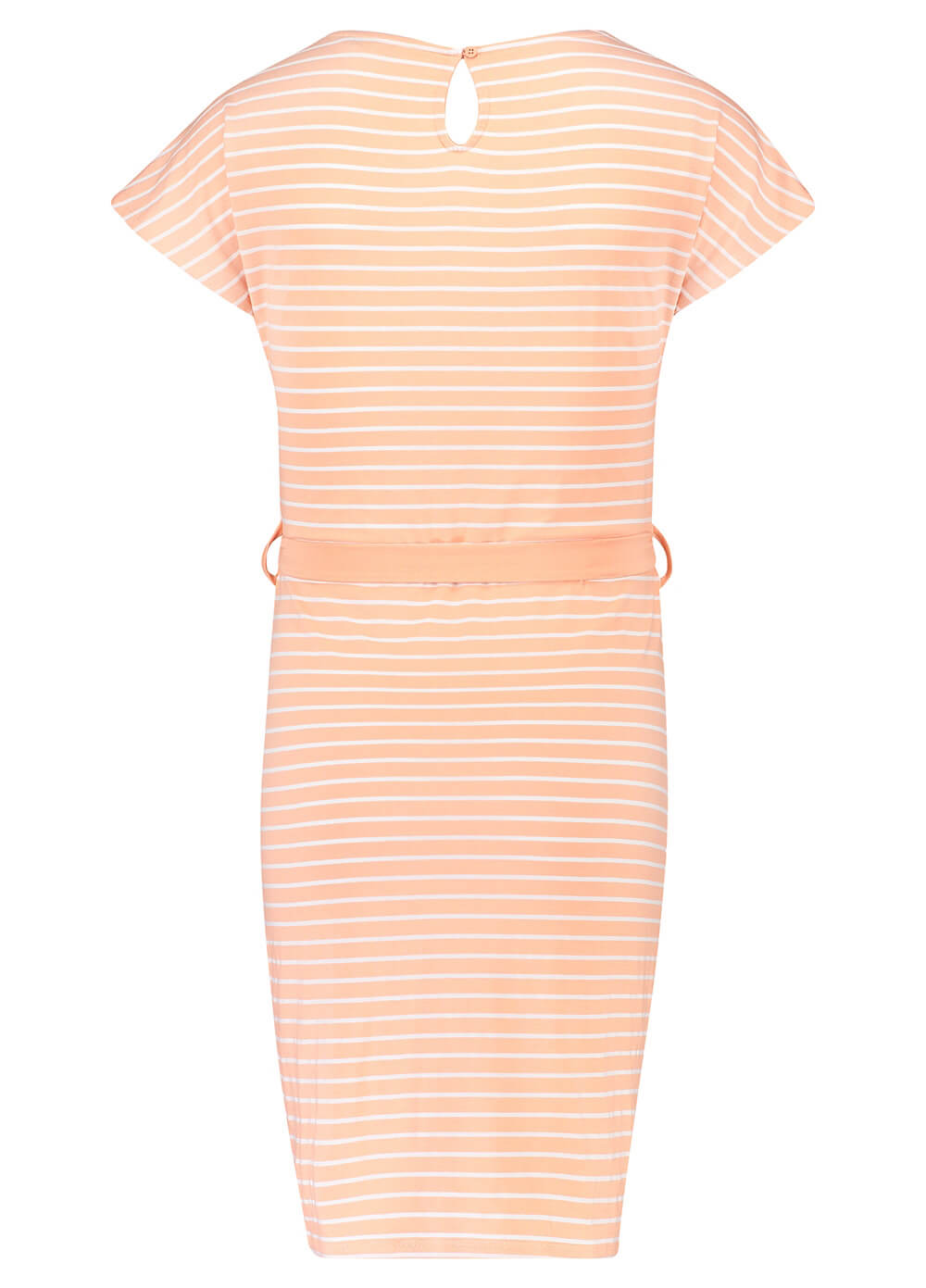 Daantje Maternity Dress in Peach Stripes by Noppies