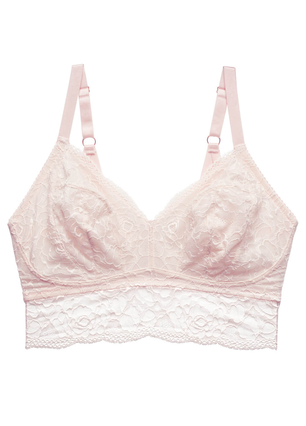 Heroine Maternity Bralette in Shell Pink by HOTmilk