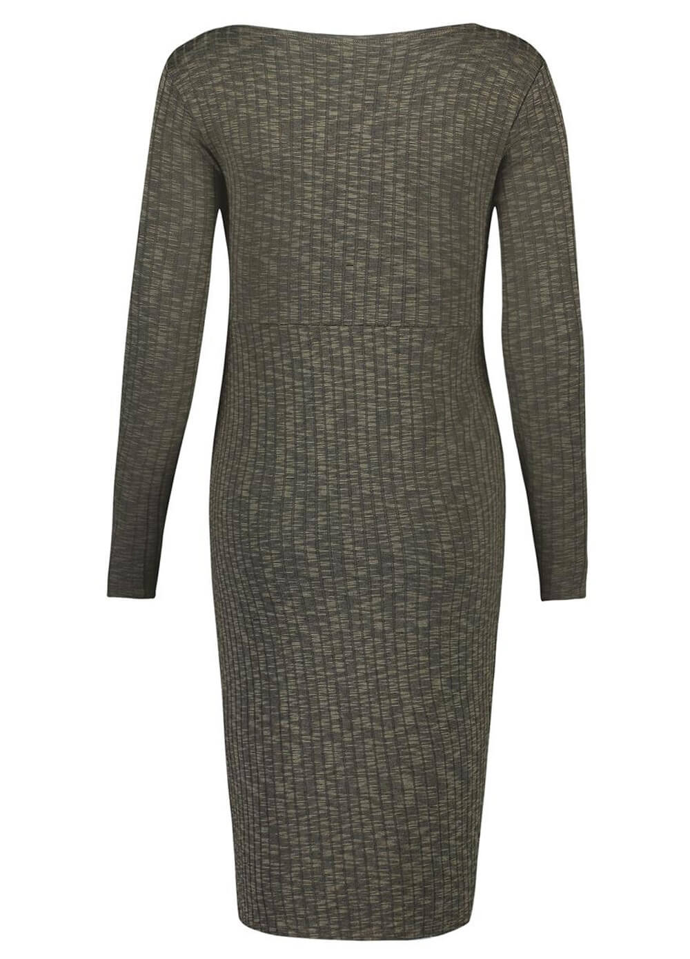 Giulia Maternity & Nursing Knit Dress in Army by Noppies