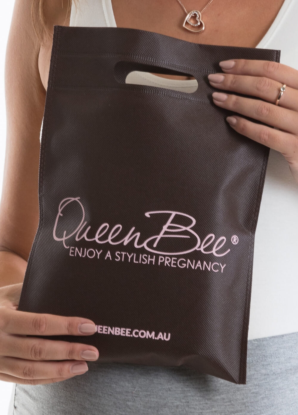 Queen Bee - Small Logo Bag