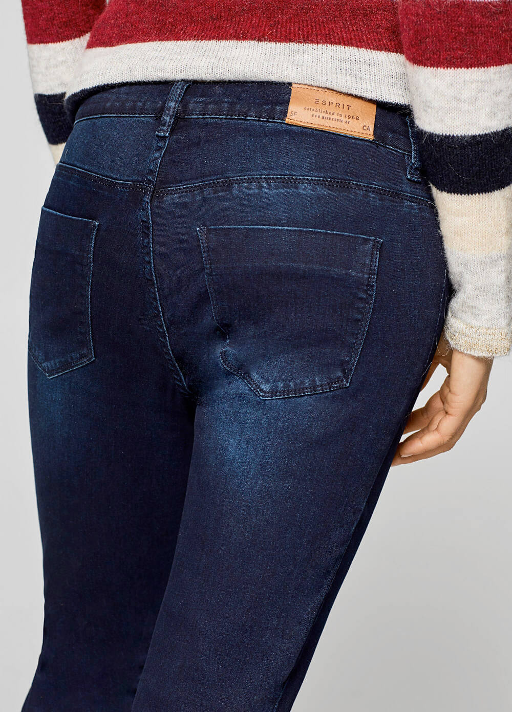 Under Bump Maternity Denim Jeggings by Esprit