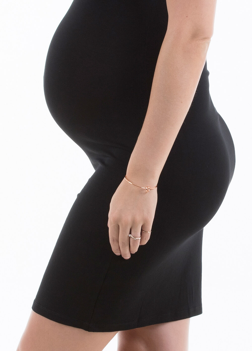 Barely There Pregnancy Slip in Black by Trimester®