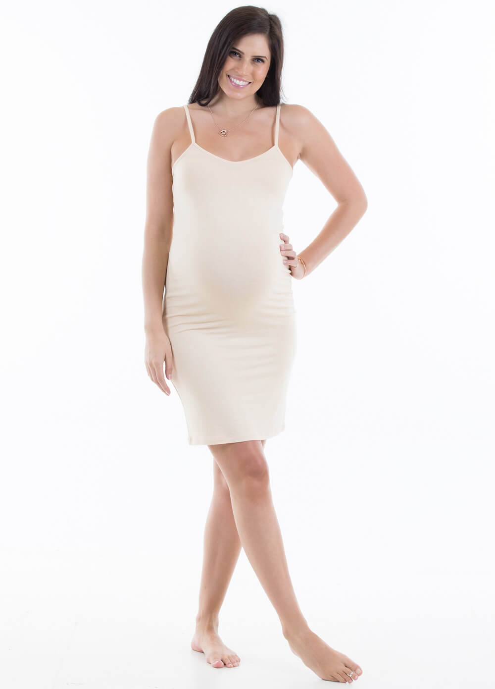 Barely There Pregnancy Slip in Nude by Trimester®