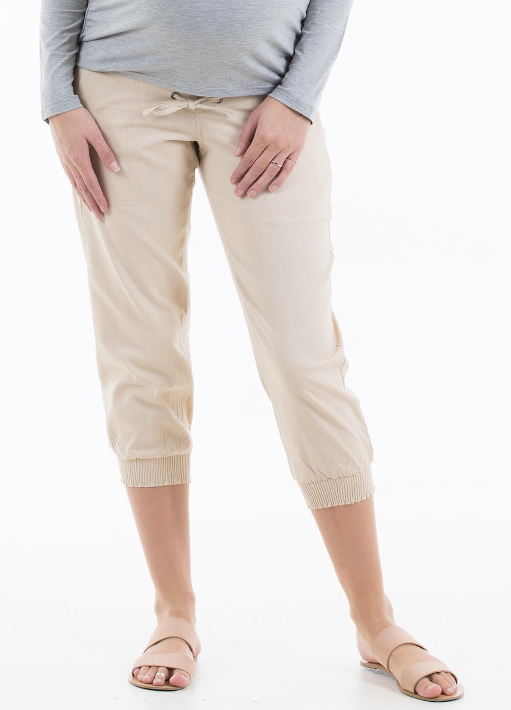 Scout Linen Maternity Pants by Trimester Clothing