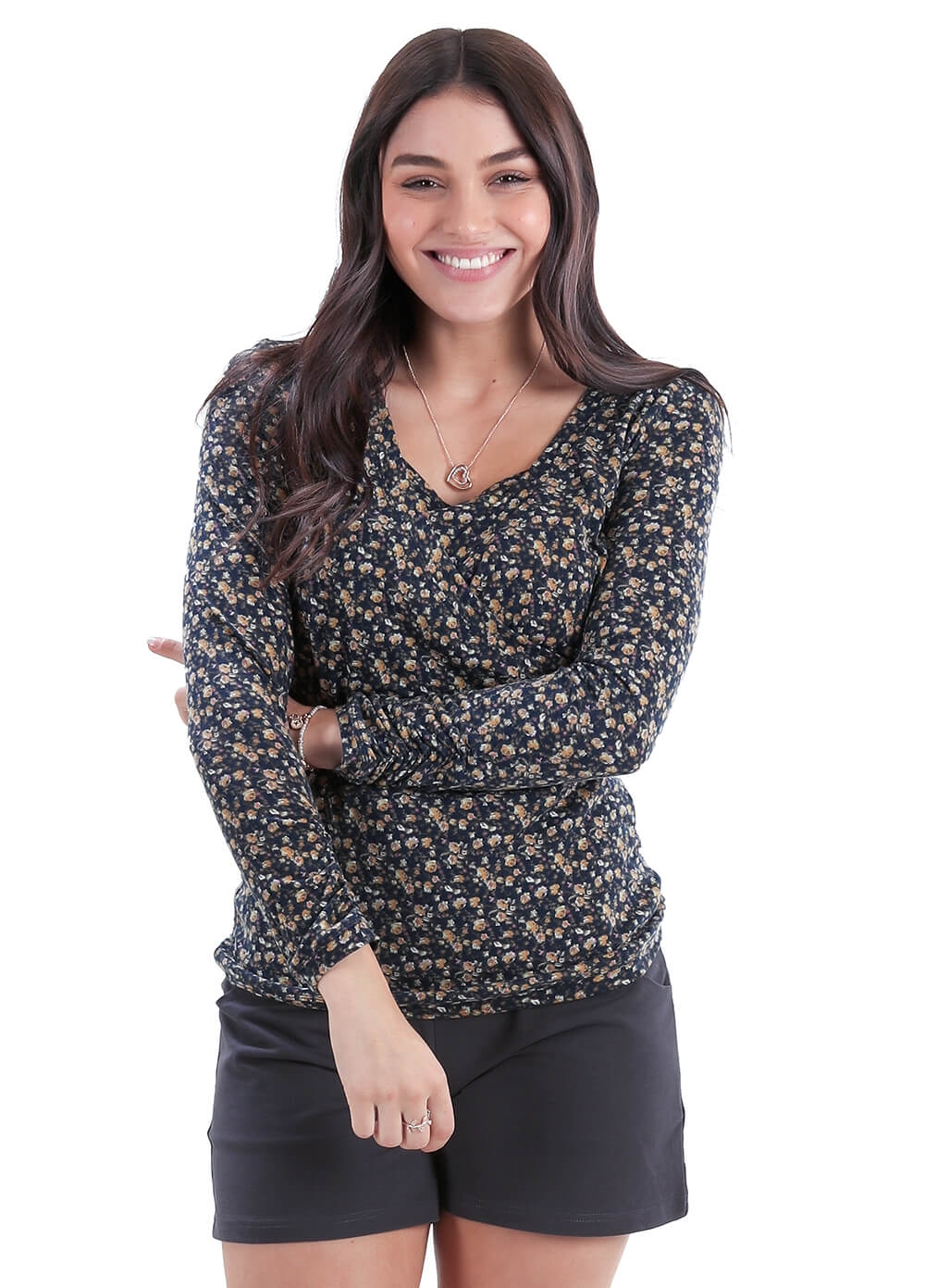 Floressa Noemie Floral Breastfeeding Top | Queen Bee