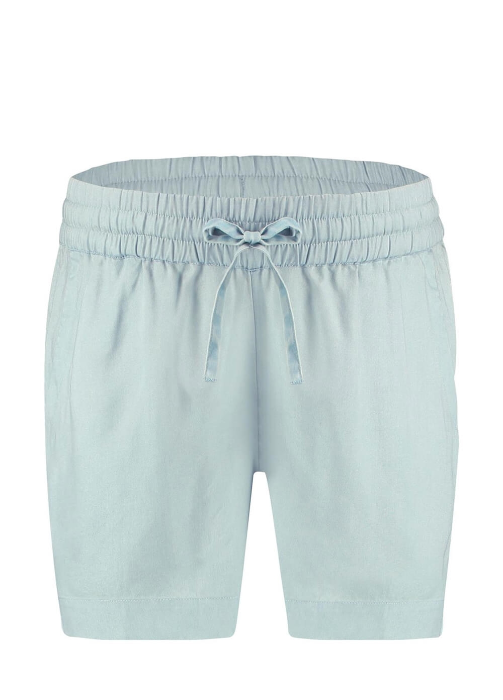 Queen mum - Forget-me-not Blue Maternity Shorts | Queen Bee